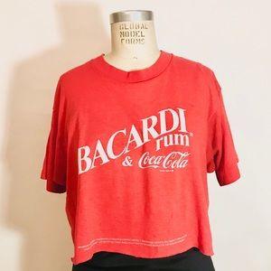 *TRUE VINTAGE* 80's Bacardi Rum & Coke t-shirt